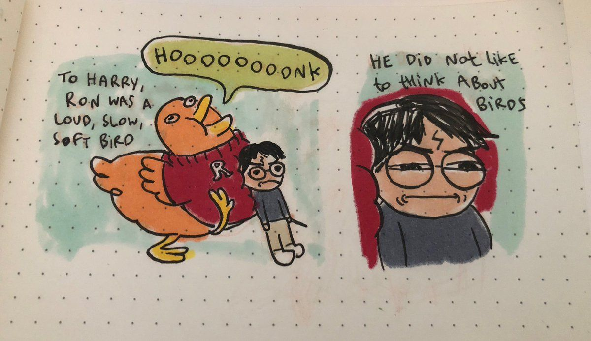 Megan Nicole Dong On Twitter I Have To Draw Some Moments From This Bot Written Harry Potter Memes Hilarious Harry Potter Fantastic Beasts Harry Potter Facts