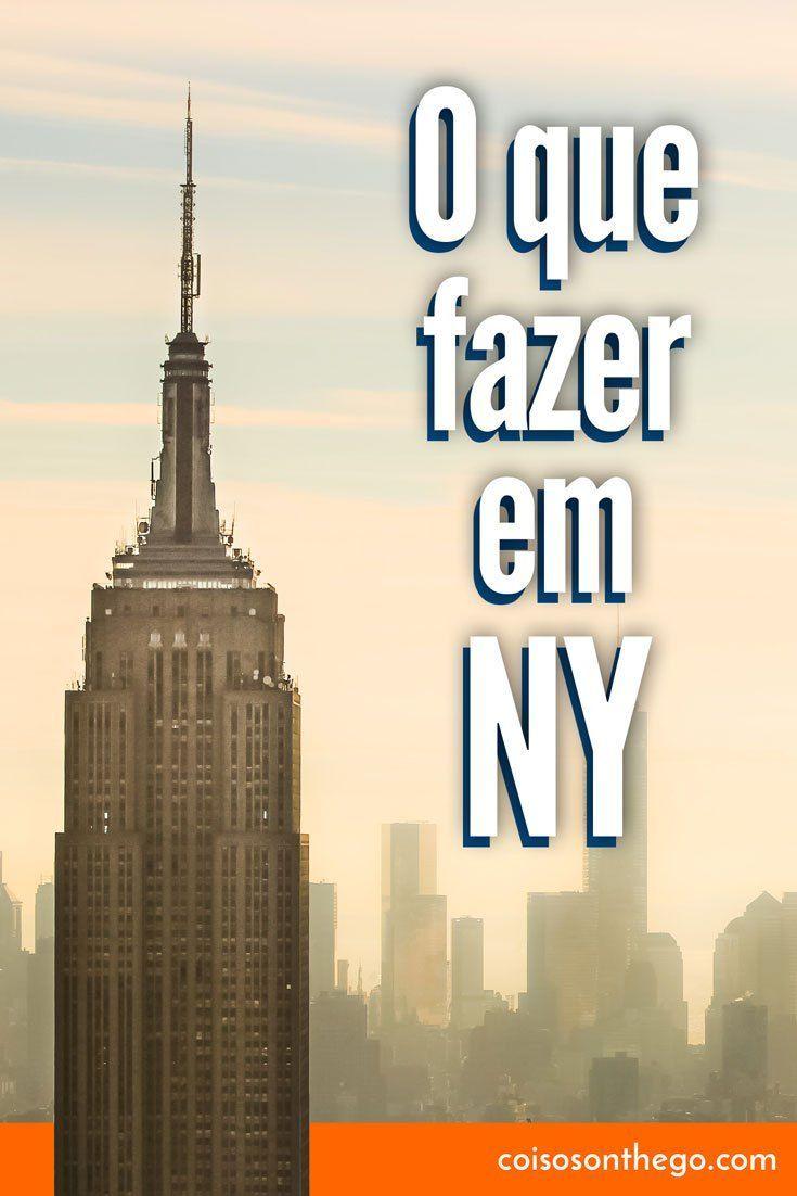 O que fazer em Nova York: os melhores pontos turísticos e passeios para você aproveitar ao máximo a sua viagem na Big Apple! Estados Unidos #NovaYork #nyc #viagem #estadosunidos #newyork