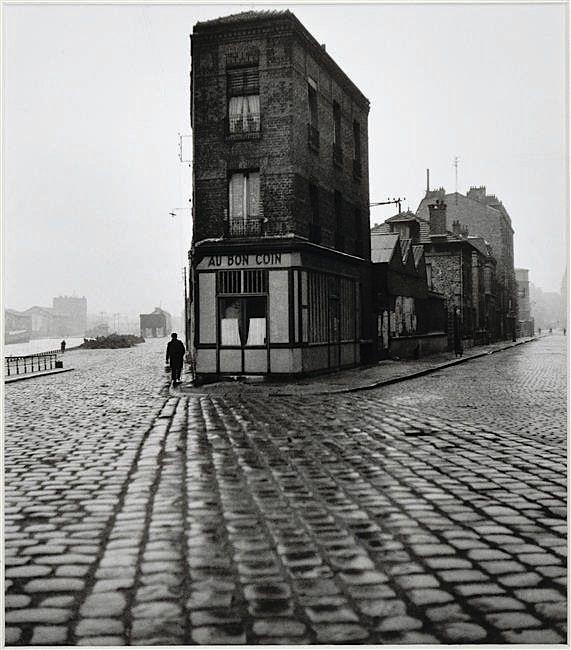 Au Bon Coin (ou La maison de Doisneau), quai du Port, Saint-Denis, France, 1945 - Robert Doisneau