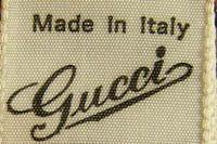 Vintage Fashion Guild Label Resource Gucci Woven Labels Clothing Labels Vintage Labels