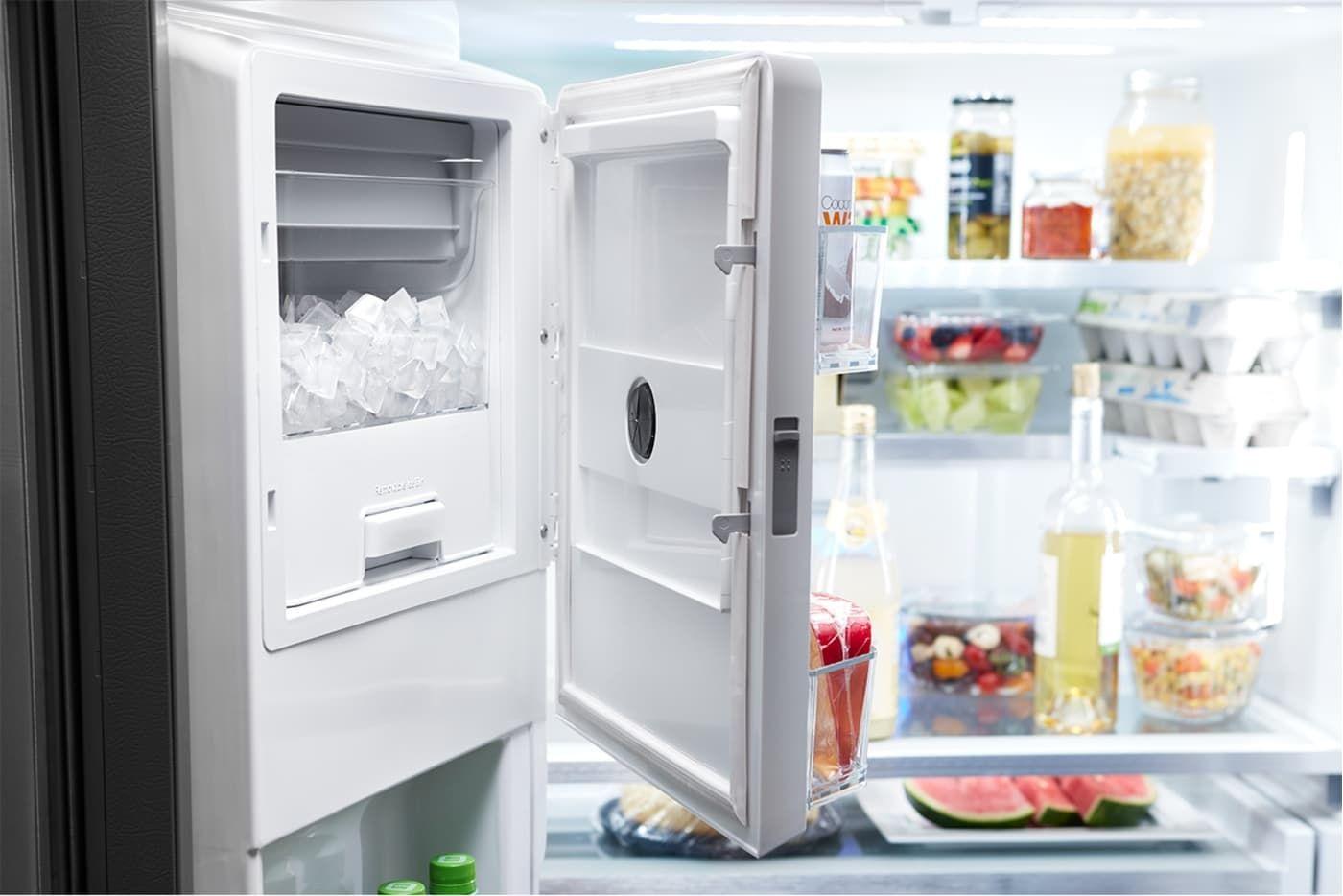 Wrf954cihz By Whirlpool French Door Refrigerators Goedekers Com French Doors French Door Refrigerators Adjustable Shelving