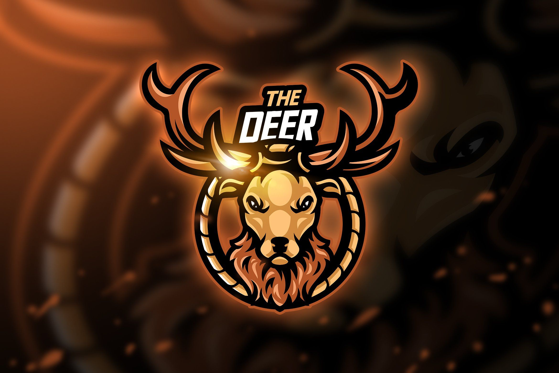 Deer Mascot & Esport Logo by AQR Studio on