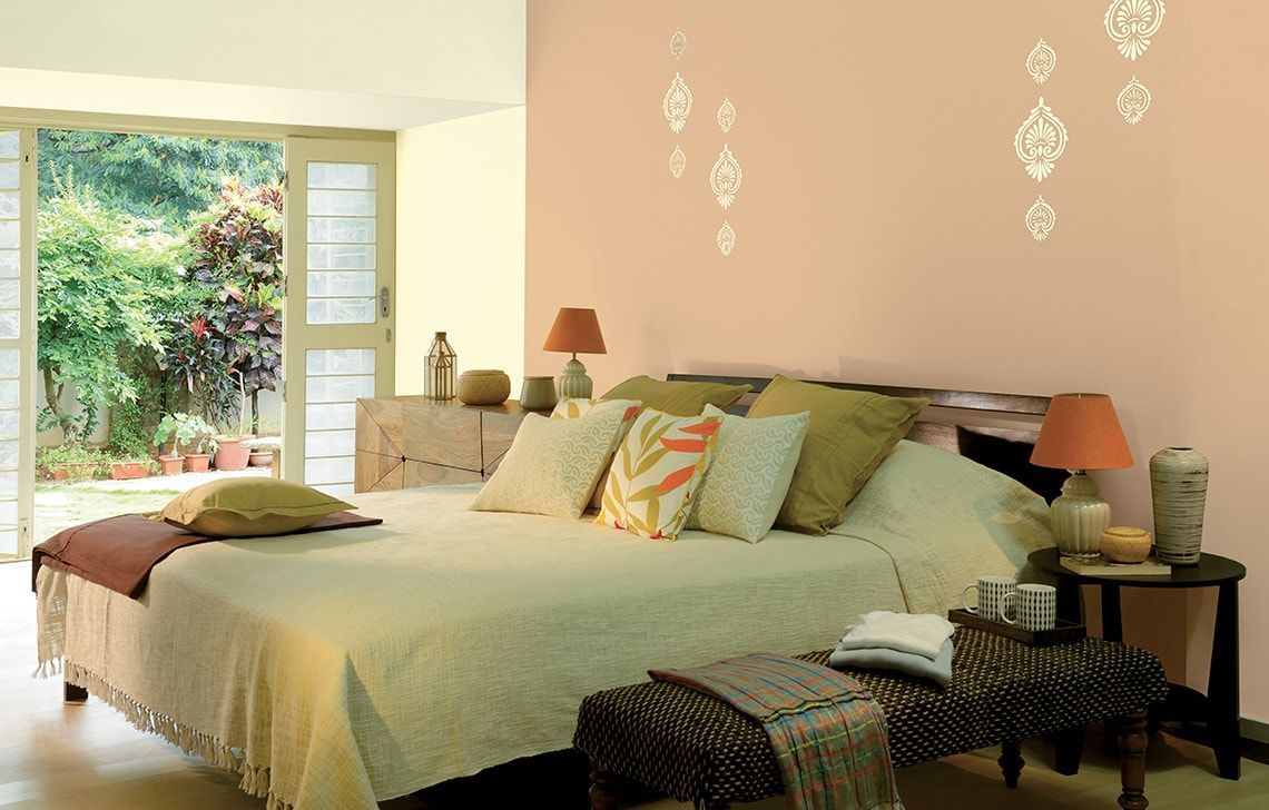 Pin by Home Decor on Bedroom Idea | Bedroom wall paint ...