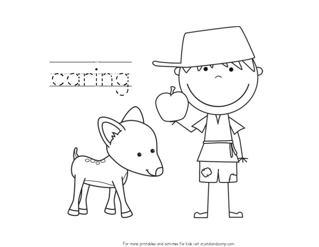 Johnny Appleseed Coloring Pages With Handwriting Practice Coloring For Kids Coloring Pages Shark Coloring Pages