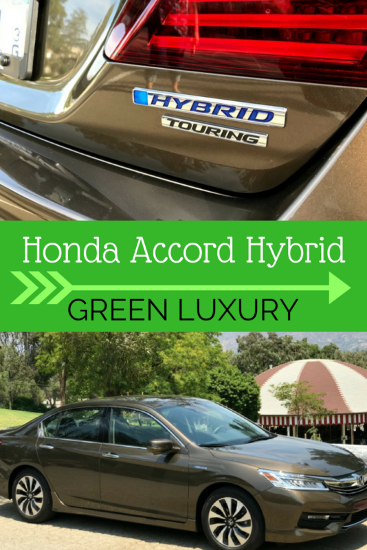 2017 Honda Accord Hybrid Touring Review Green Lux
