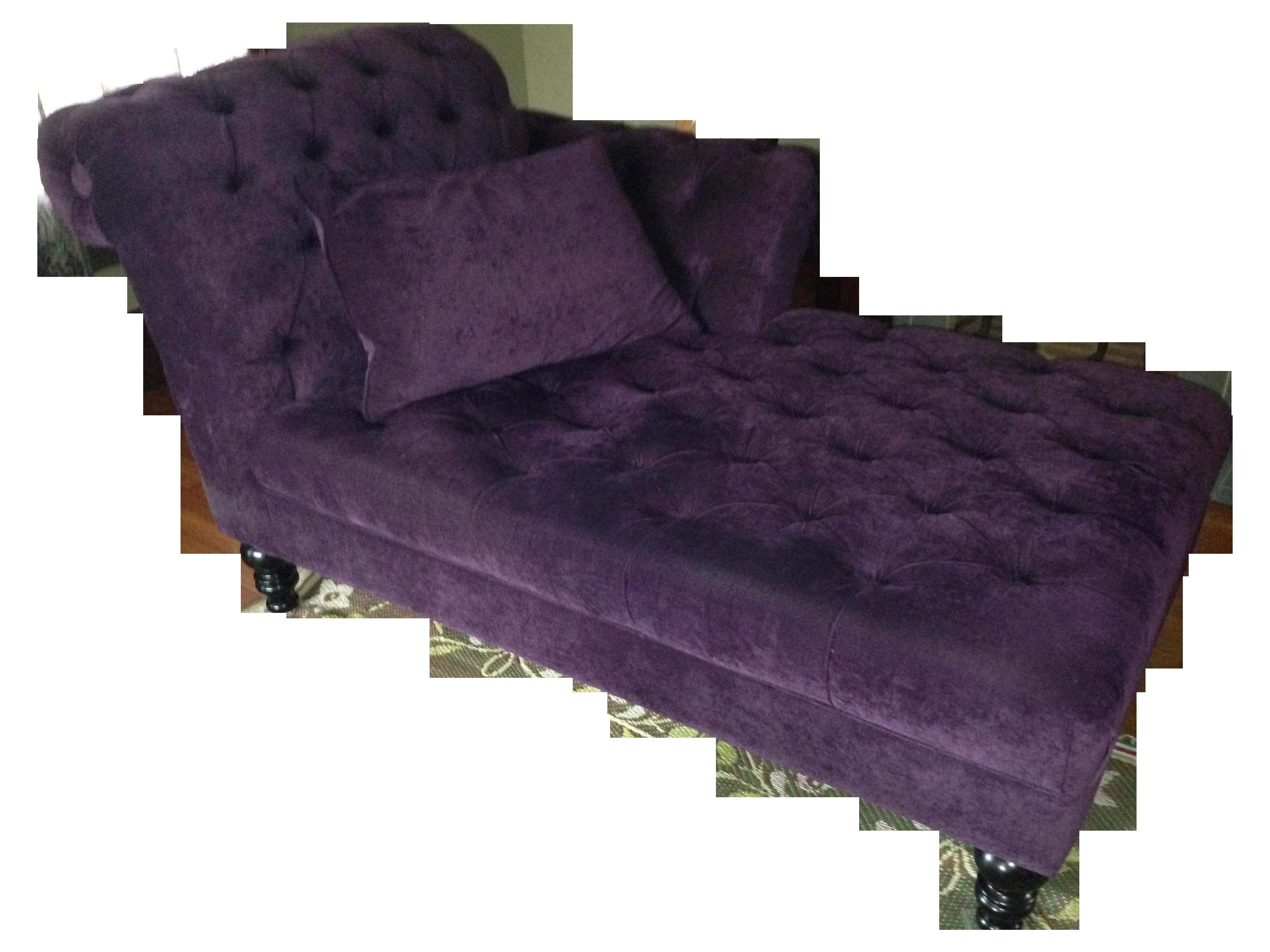 Purple Velvet Chaise Lounge  sc 1 st  Pinterest : purple chaise - Sectionals, Sofas & Couches