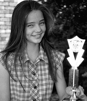 100+ Miranda Kerr photos when young