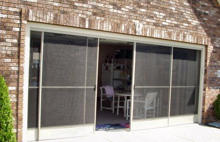 Sliding Screen Door Porch garage door screen - google search | quonset home | pinterest