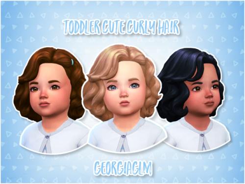 Georgiaglm ⏩ Toddler Cute Curly Hair ⏪ ⏩ As The