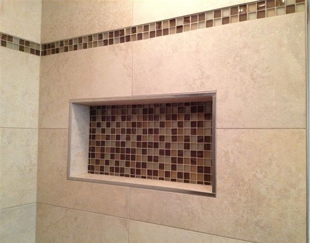 Wonderful Tile Shower Installation Project X Rectified Porcelain Tile Amazing Ideas