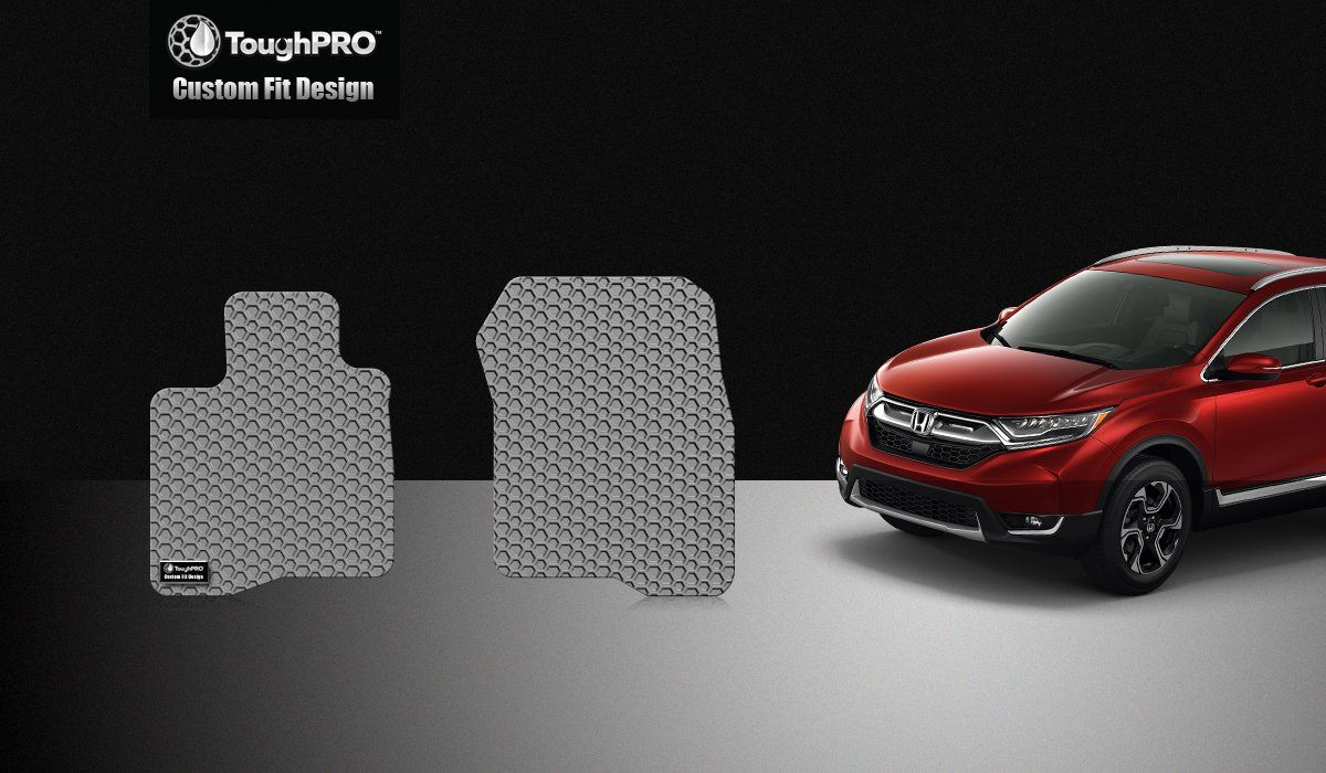 Toughpro Honda Cr V Floor Mats Set All Weather Heavy Duty Gray Rubber 2017 2018 2019 You Can Find Out More Details A Floor Mats Honda Cr Flooring
