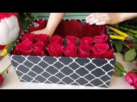 Diy Rosenbox Selber Machen Youtube Rosen Box Rosenboxen