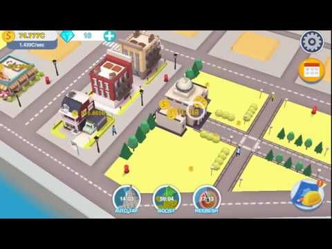 Free iOS and Android Game Tap Tap City Idle Clicker Gameplay