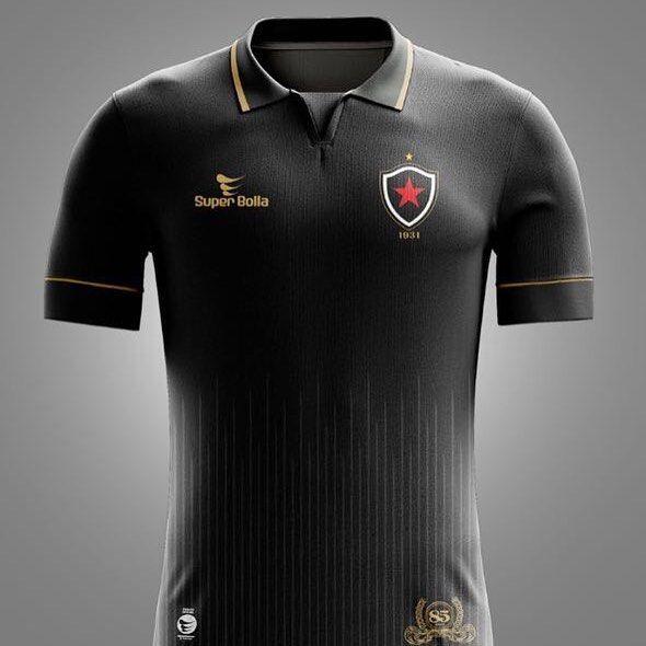 4d2471a1de Camisa dos 85 anos do Botafogo-PB 2016 Super Bolla 1931
