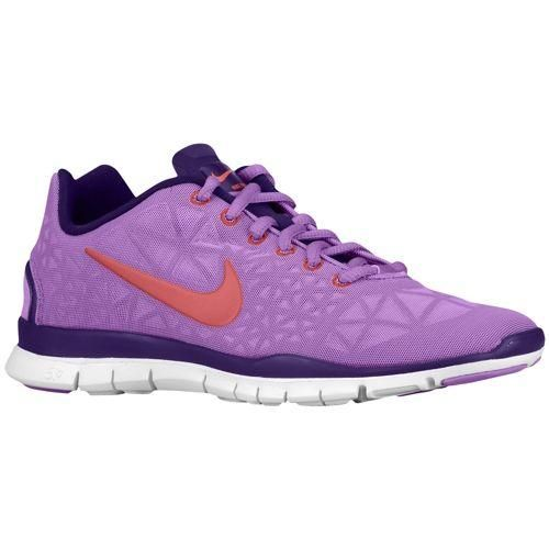 Purple Nikes.
