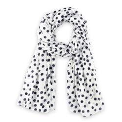 a4ff5b02a6c4 Chèche imprimé coton  br  Blanc pois noirs   Be so Pois   Pinterest ...