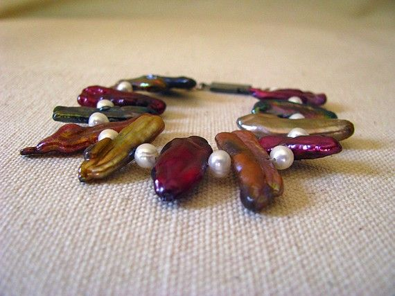 classy stick pearl bracelet