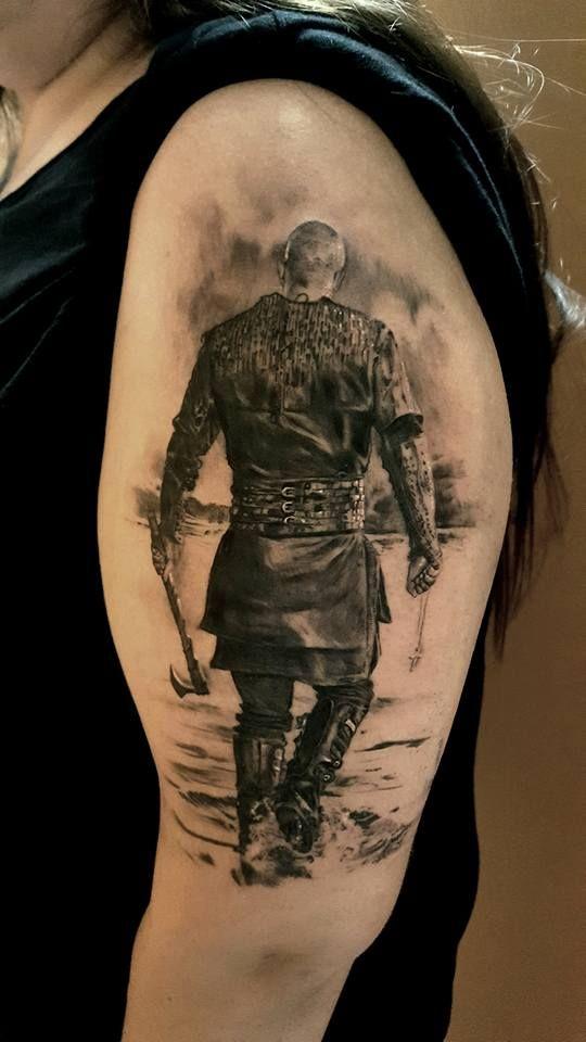 Floki Tattoos: Ragnar By Andy Hyde