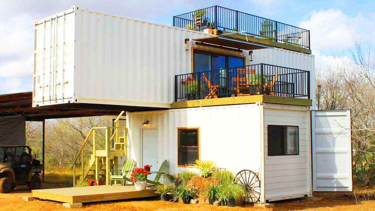 Absolutely Stunning Stack Em Made From Double Shipping Containers
