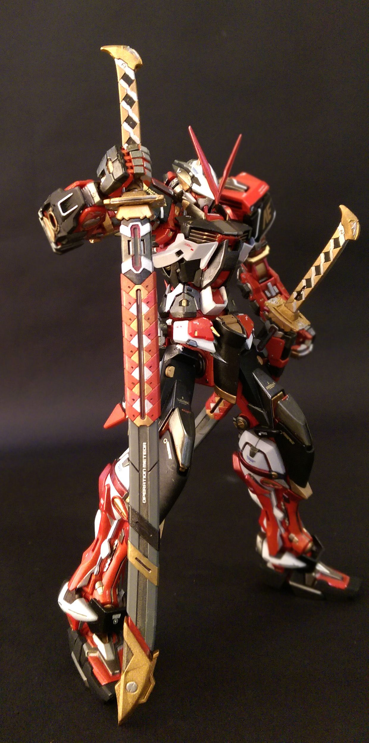 Gundam Astray Red Frame Mbf P02kai Gundam Pinterest