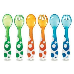 Munchkin 14905 6 Piece Fork and Spoon Set: Amazon.ca: Baby