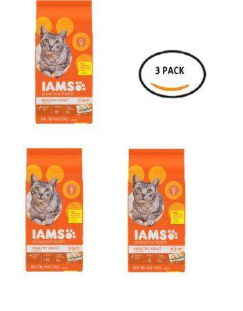 Pack Of 3 Iams Proactive Health Healthy Adult Original Cat Food