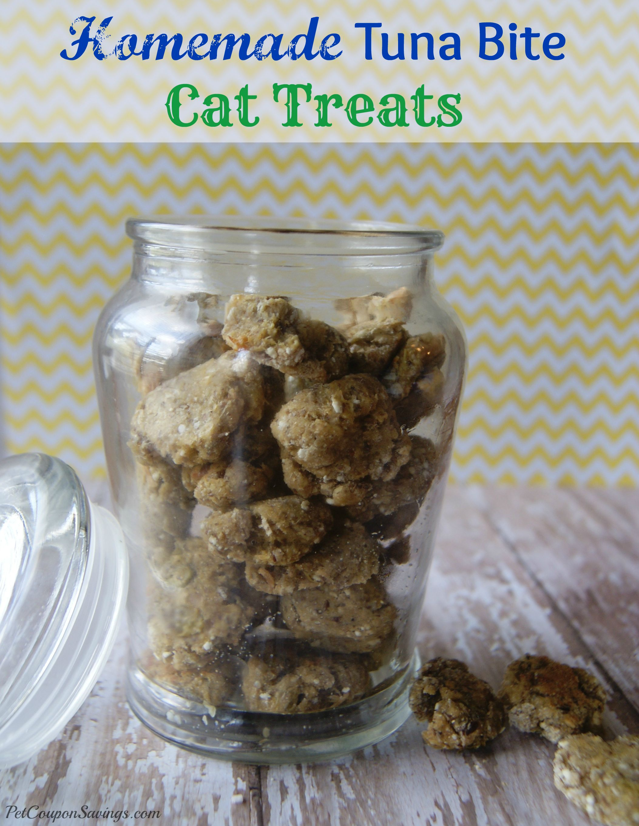 Homemade Tuna Cat Treats Recipe Cat treats homemade