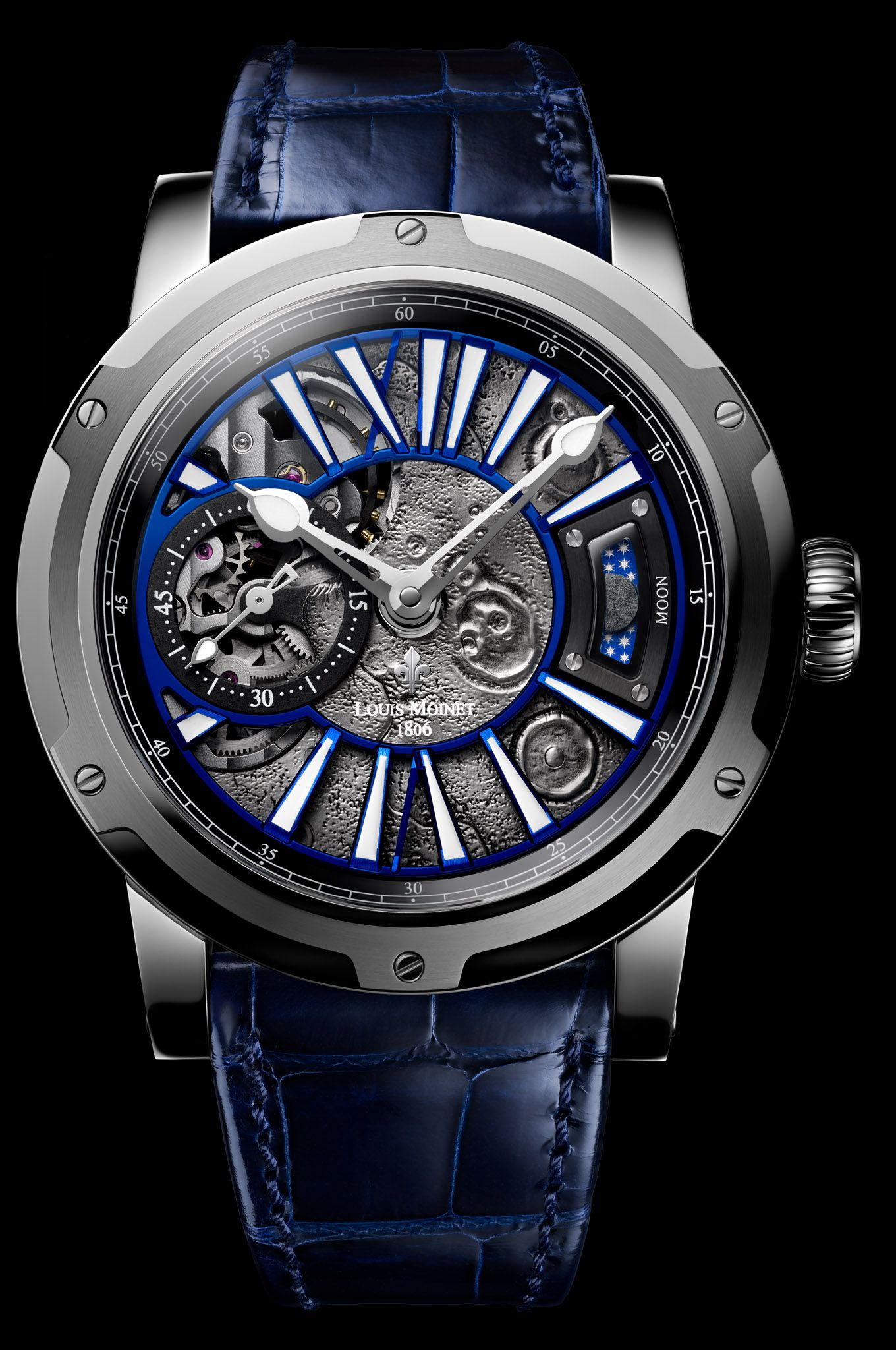 8c899086bb0 Moon Steel - Moon - Moon - Limited Editions - Louis Moinet ...