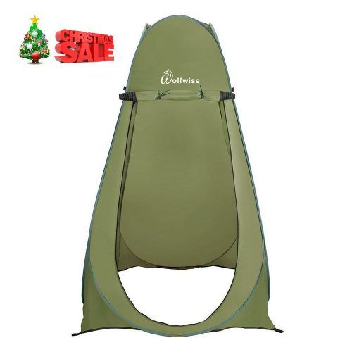 1. WolfWise Pop up Shower Tent | Shower