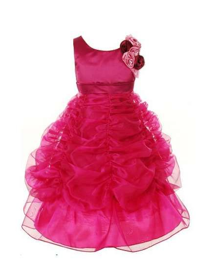 99552ae6b1 Buy Pink Wings Girls Party Wear Gown online shopping India | Girls Clothing  | best price 1999.00