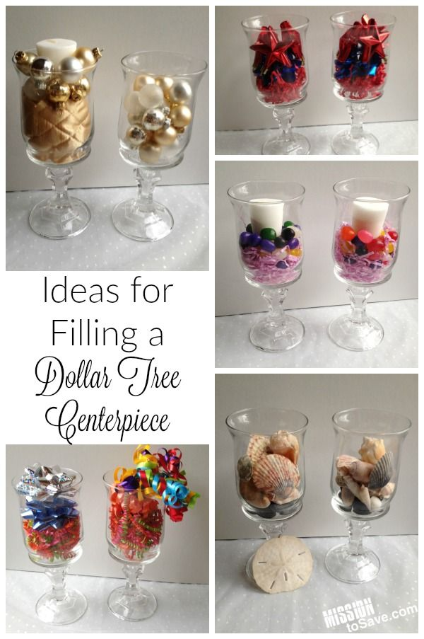 Dollar Store Home Decor Ideas Part - 17: Easy Fall Home Decor With A Dollar Tree Centerpiece