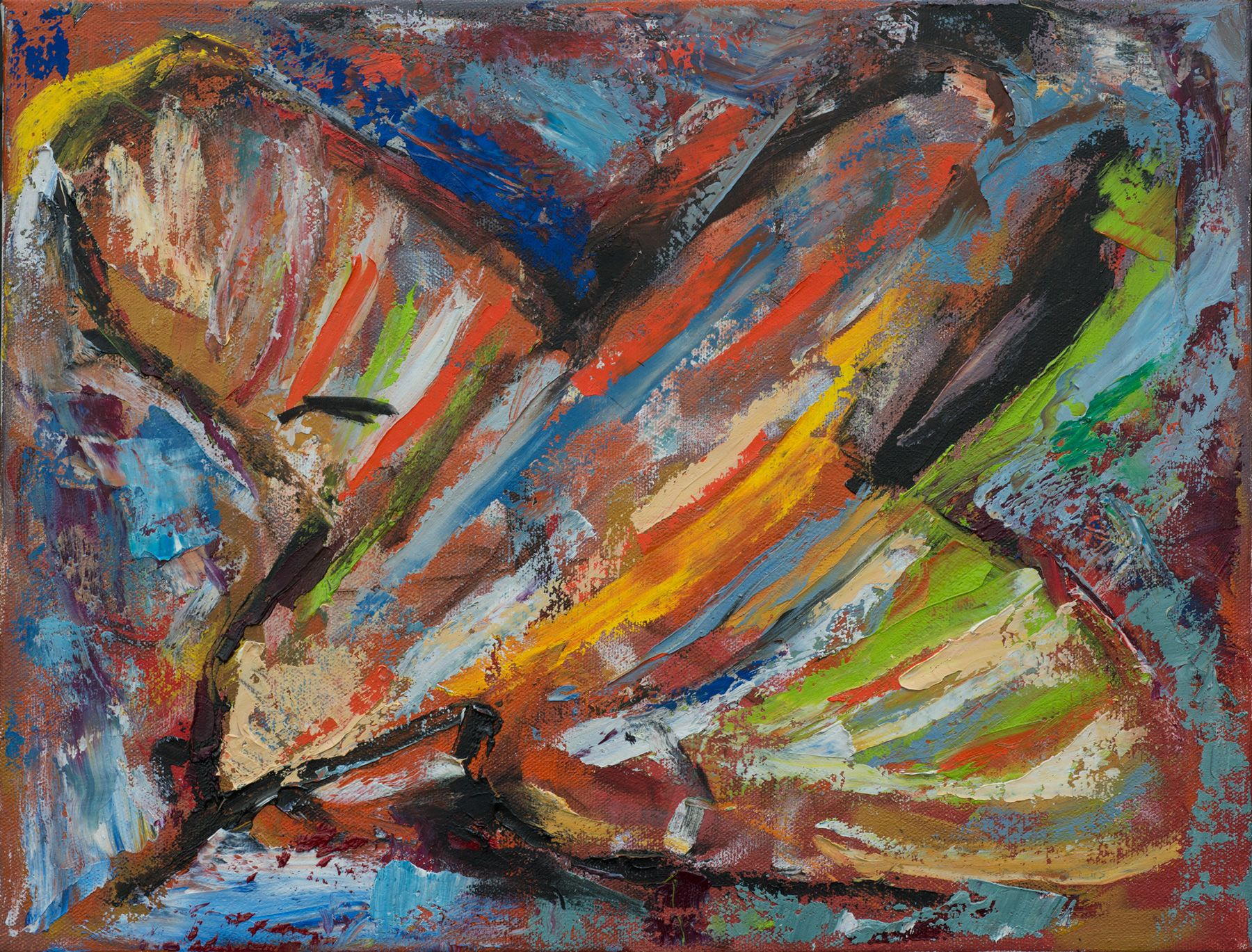 Fly Away, oil on canvas, price on request
