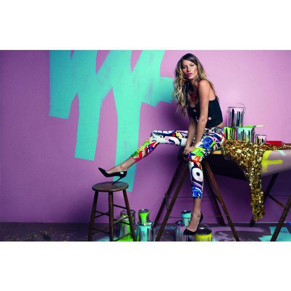 Gisele Bundchen Tags Up Vogue Brazil's July 2012 Issue by Patrick... ❤ liked on Polyvore