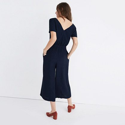 Starnight Short-Sleeve Jumpsuit $145