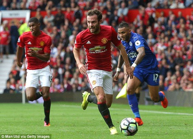 There were fears for Mata's United future when Mourinho took over at Old Trafford