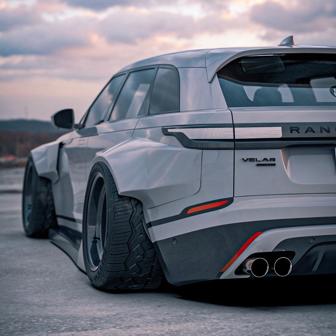 Range Rover Velar BradBuilds Un châssis bas et un énorme