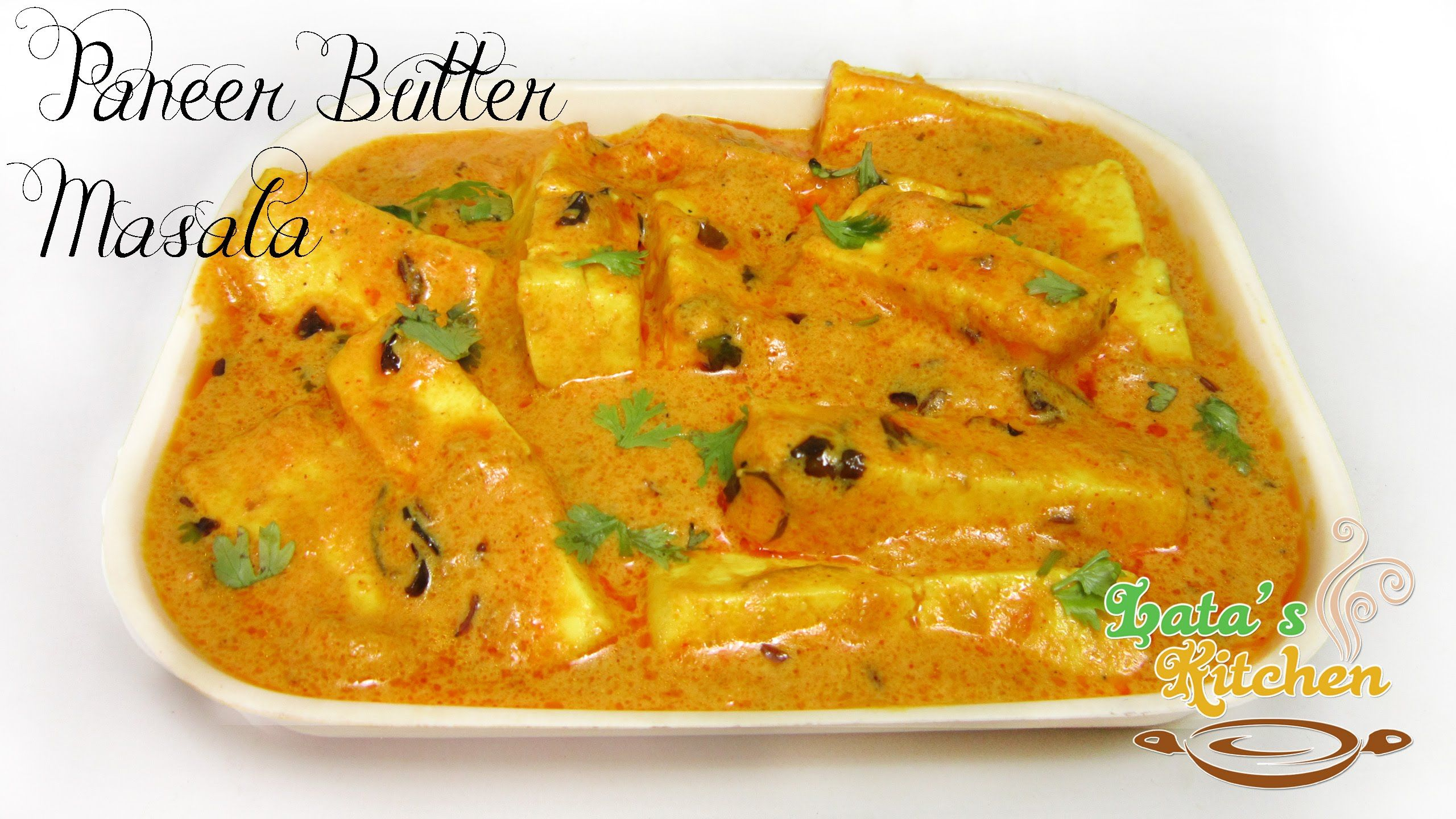 Paneer butter masala recipe indian vegetarian recipe video in paneer butter masala recipe indian vegetarian recipe video in hindi with english subtitles forumfinder Image collections