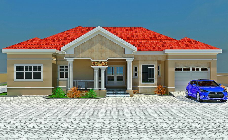 Nigeria floor plans houses with balconies on top yahoo for Nigeria building plans and designs