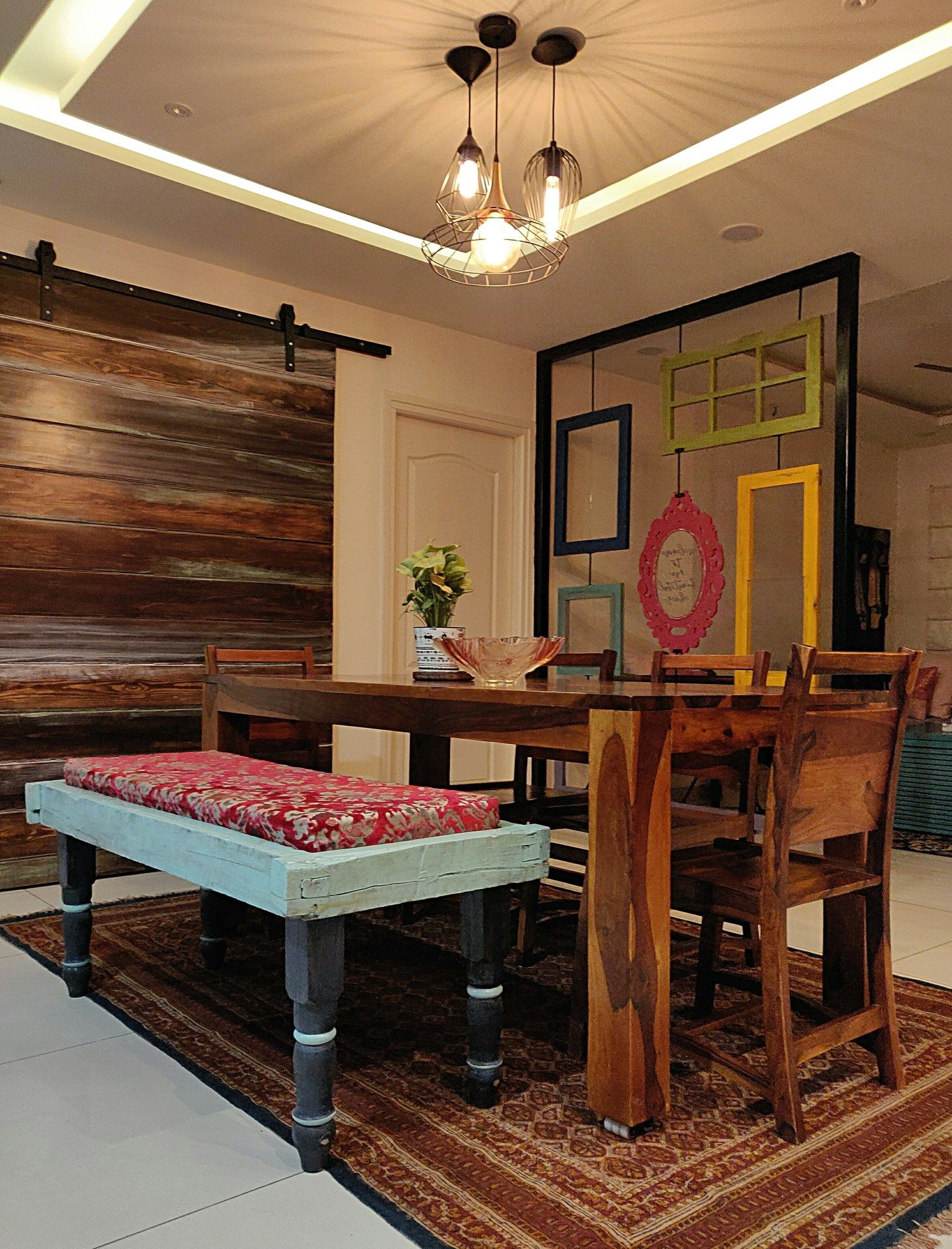 Home Tour A Stunning Hyderabad Home Styled With Warm Colours