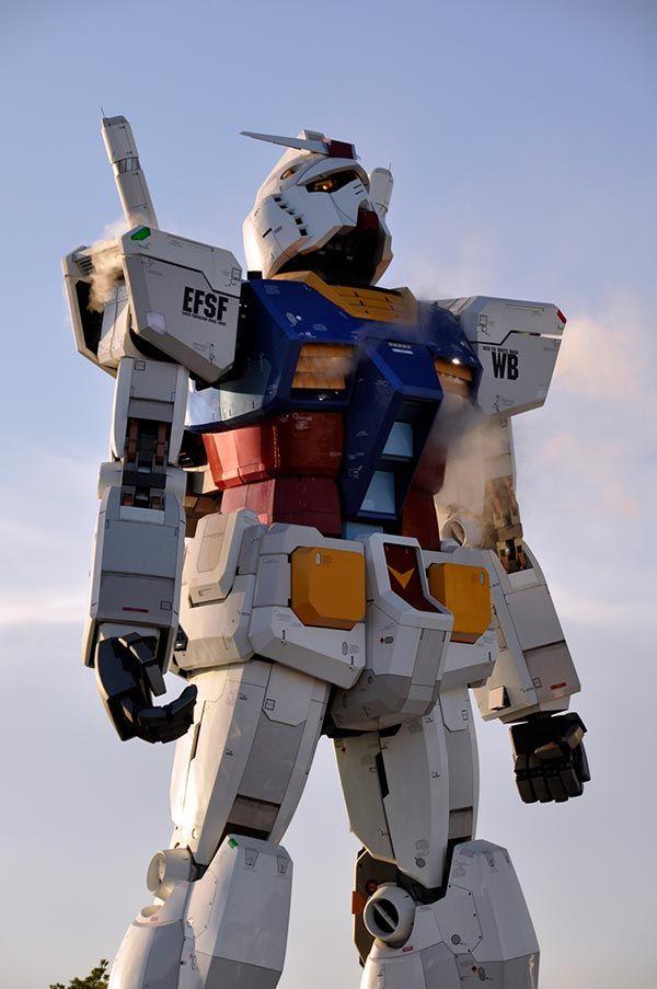 tokyo gundam statue 1