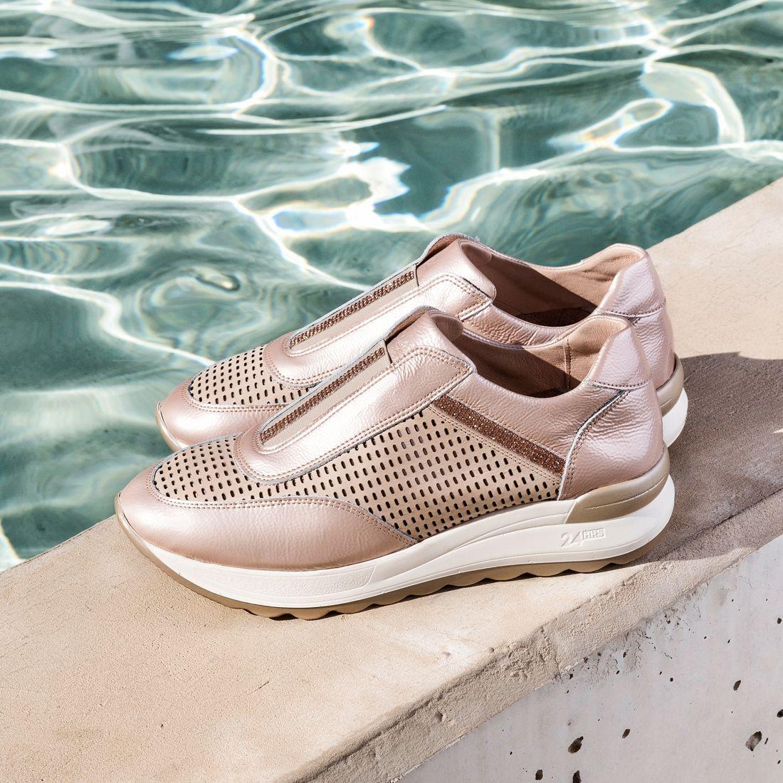 Talla transportar Reproducir  24 HORAS 23970 ORO Zacaris zapatos online. | Marcas zapatos mujer, Zapatos,  Zapatos para niñas