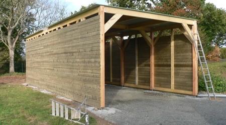 Prix Pour Construire Un Garage Construire Un Garage Construction Garage Terrasse Beton