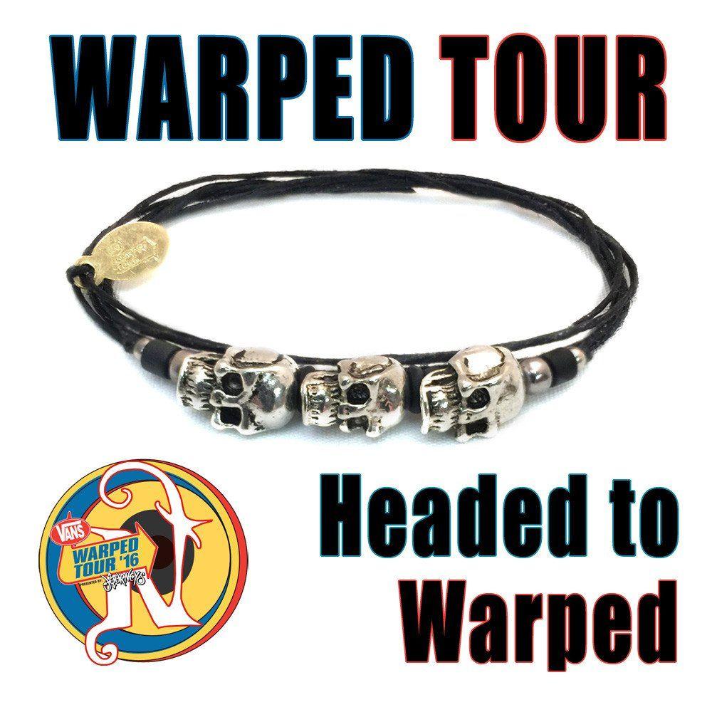 Headed to Warped Tour NTIO Bracelet by Vans Warped Tour | Vans ...