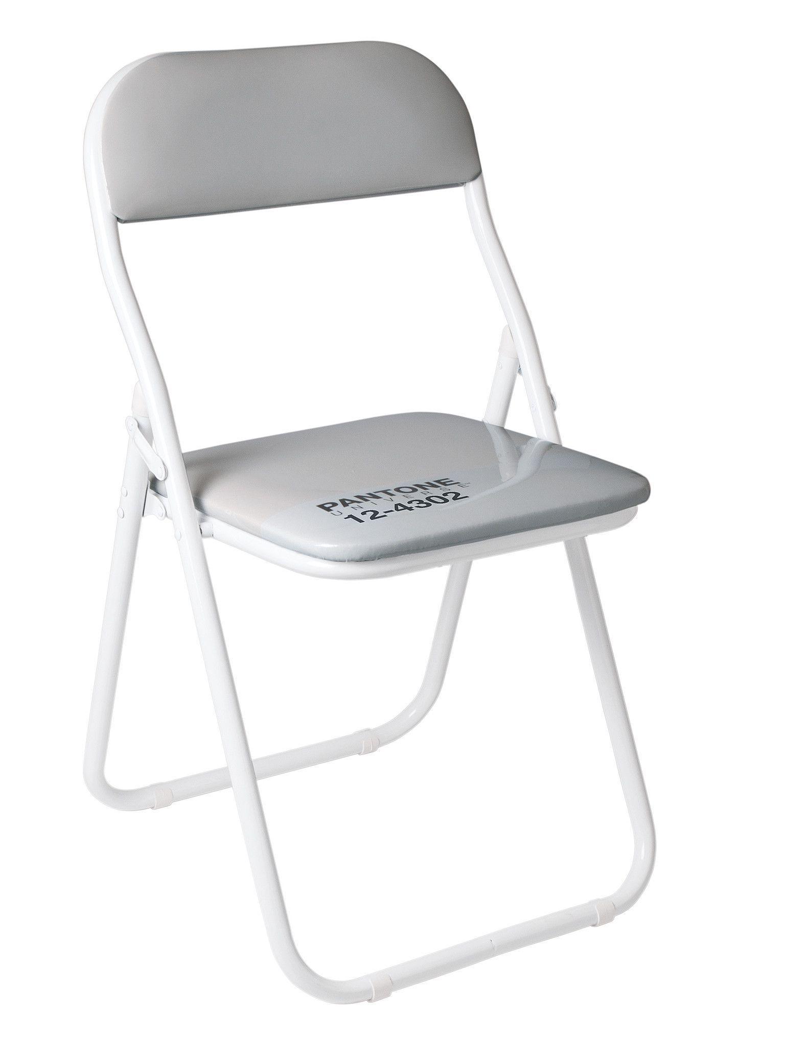 12 Metal Folding of 4302 6by Pantone White ChairSet PkZOTXiu