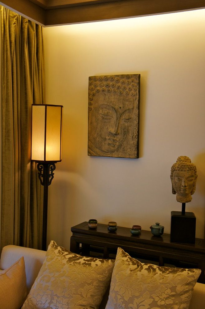 Superb Buddha Statues Decorating Ideas For Beguiling Living Room Asian Design Ideas With Zen Corner Asian Living Rooms Asian Home Decor Cozy Living Room Design