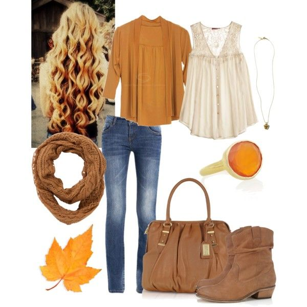 """Fall Fall Fall Outfit"" by natihasi on Polyvore"