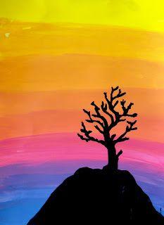 Pin By Elisabeth Paquin On Art Education Sunrise Art Painting Sunrise Art Sunset Art