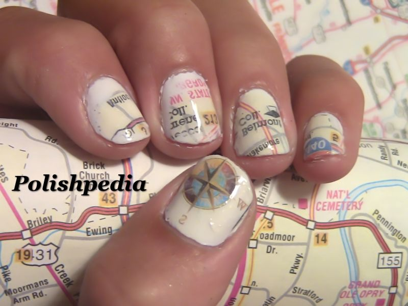 Road Map Nail Art, can\'t wait to try this (full tutorials) | Nails ...