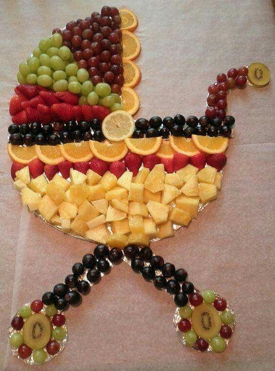 Fruit Food Art Fruit Pinterest Baby Shower Baby Shower