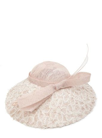 Pink Blossom Petal Saucer Hat - hats - accessories - Women  7dbdc3d6e9f